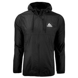 adidas Men's Essentials Hooded Wind Jacket Black M
