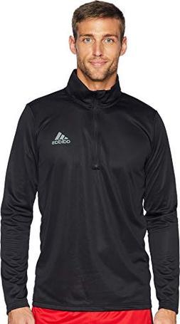 adidas Men's Essentials Tech Quarter Zip Long Sleeve Shirt,