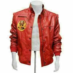 men s faux leather the karate kid