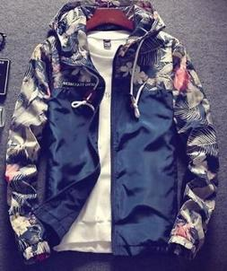 Men's Floral Bomber Jacket