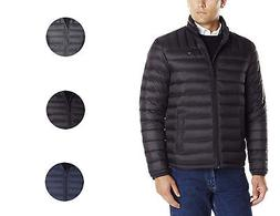 Tommy Hilfiger Men's Insulated Packable Down Puffer Nylon Ja