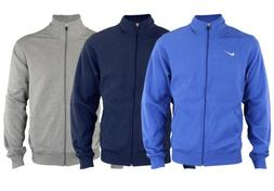 Nike Men's Mock Collar Fleece Jacket, Color Options