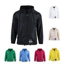 Men's Outdoor Front Full Zip Jacket Lightweight Hooded Mesh