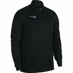 Nike Men's Pacer Half-Zip Top, Black, Large