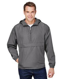 men s packable anorak zip jacket co200