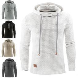 Mens Premium Athletic Soft Sherpa Lined Fleece Hoodie Coat C