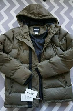 Wantdo Men's Puffer Winter Warm Quilted Jacket Outwear with