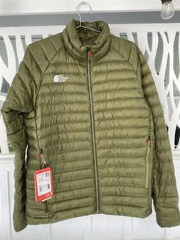 The North Face Men's Quince 800 Summit Series Jacket, Green-