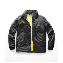 The North Face Men's Resolve 2 Black Yellow Jacket 7525 Size