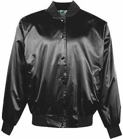 86de7e30fdf Augusta Sportswear Men s Satin Solid Trim Rib Knit Collar Ba