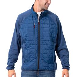 Orvis Men's Sno-Bird Hybrid Jacket, Blue, Gray, LTall Sizes