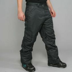 Zonal Men's Snowboard Ski Pants Black NEW
