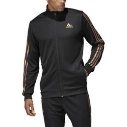 Adidas  Men's Soccer Tiro Track Jacket Black/Nude Pearl Esse