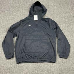 Nike Men's Sportswear Anorak Jacket Black Mens Size Medium B