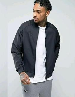 Nike Men's Sportswear NSW Bomber Jacket Black 832224 010 Sz