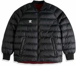 adidas Originals Men's Superstar Reversible Jacket Black XX-