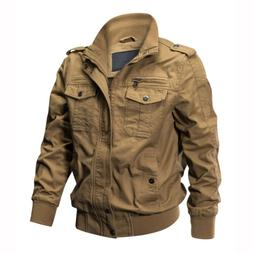 Men's Tactical Jacket Military Army Field Cotton Coat Airbor