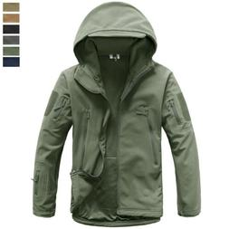 Mens Tactical Outdoor Army Jacket Military Waterproof Traini