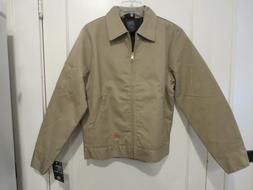Dickies Men's Tan Insulated Lined Eisenhower Jacket Style #