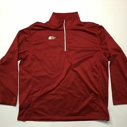 The North Face Men's Tech Glacier 1/4 Zip Fleece Jacket Card