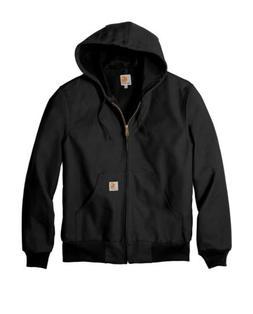 Carhartt Men's Thermal-Lined Duck Hood Active Jacket Medium
