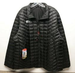 The North Face Men's Thermoball Full Zip Jacket TNF Black Si