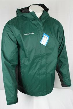 Columbia Men's Timber Pointe II Omni Tech Rain Hooded Waterp