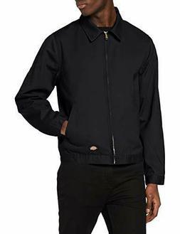 Dickies Men's Unlined Eisenhower Jacket, Black, Large