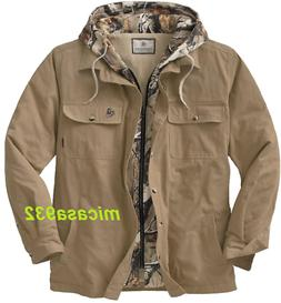 Legendary Whitetails Men's Voyager Hooded Shirt Jacket Small
