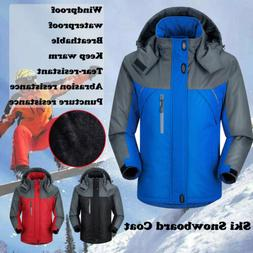 Men's Warm Winter Waterproof Ski Snow Climbing Hiking Sports