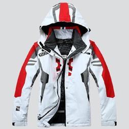 Men's Waterproof Coat Hood Ski Suit Jacket Winter snowboard
