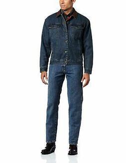 Wrangler Men's Western Style Lined Denim Jacket - Choose SZ/