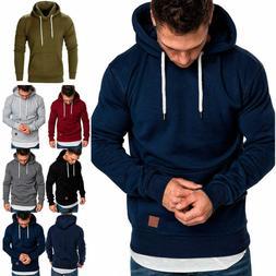 men s winter hoodies slim fit hooded