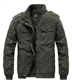 men s winter thicken military jacket cotton