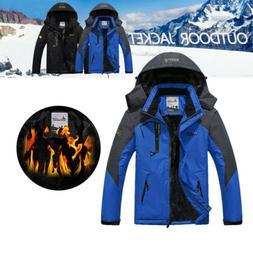 Men Waterproof Ski Jacket Snow coat Hiking Snowboard Windbre