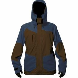 HOMESCHOOL Men WATERPROOF Ski SNOW Board JACKET Coat BROWN B
