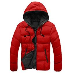 Hot Sale! Ankola Men's Winter Casual Slim Quilted Puffer Jac