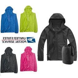 Men Women Windproof Waterproof Jacket Bicycle Outdoor Sport