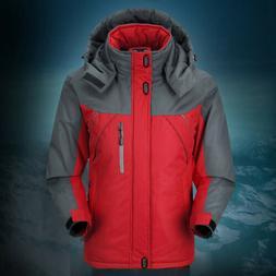 Men Women Winter Warm Outdoor Jacket Fleece Waterproof Ski S