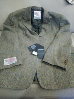 $360 Alfani RED 40L Black Tonal Striped 100/% Wool Slim Fit Blazer Sportcoat
