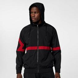 Mens Air Jordan Diamond Track Jacket AQ2683-010 Black/Red NE