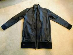 Mens Authentic Diesel Black Gold LaGiacca Sheepskin Leather