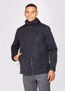 Champion Mens Black Ligjtweight Soft Shell Lined Jacket XL L