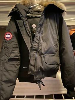 Mens Canada Goose Chilliwack Bomber Jacket , BLACK SIZE XL