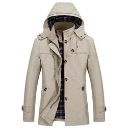 Mens Coats And Jackets Outerwear Clearance Slim Fit Big and