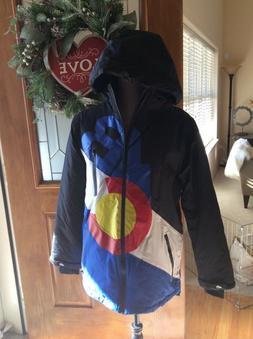 Belong Designs Mens Colorado Ski Snowboarding Jacket Coat Sm