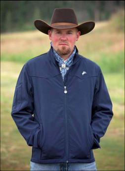 Wyoming Traders Mens Colter Zip Up Fleece Lined Soft Shell W