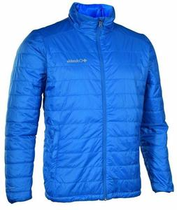 Columbia Mens Crested Butte II Omni Heat Jacket Coat Blue Si