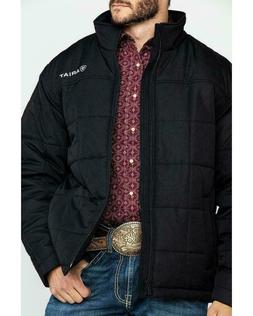 Ariat Men's Crius Black Insulated Jacket w/Concealed Carry