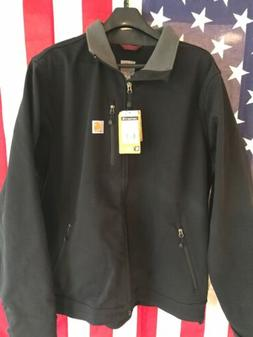 Carhartt Mens Crowley Rain Defender Soft Shell Jacket Black